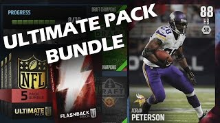 Madden 16 Ultimate Team - Flashback Pack Opening!