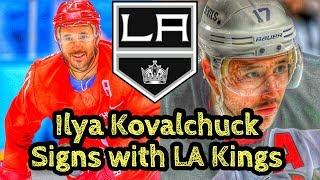 Ilya Kovalchuk Signs With The LA Kings