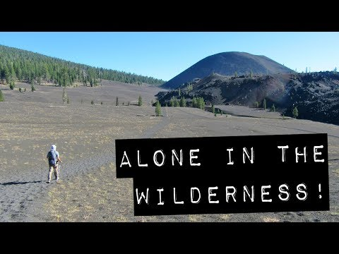2 Days Alone in the Wilderness! – Backpacking Lassen Volcanic National Park (Vanlife Adventures)