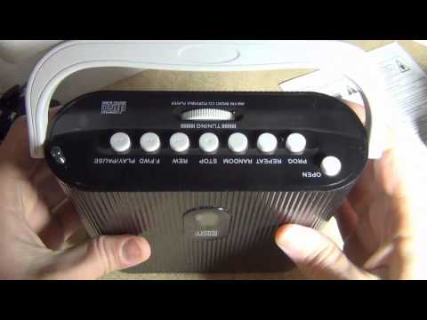 Duronic RCD025 Portable CD Player with AM/FM Radio review