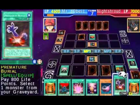 Yu-Gi-Oh! GX Tag Force 1 - Me (Morphing Jar) vs Nightshroud