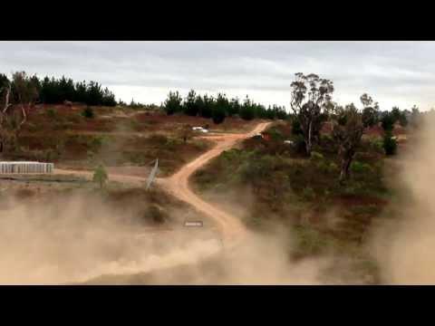 Eli Evans Canberra power stage 2014