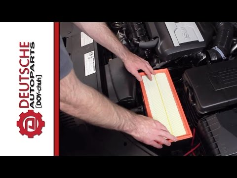 VW 2.0T TSI Air Filter Replacement DIY (How to install)