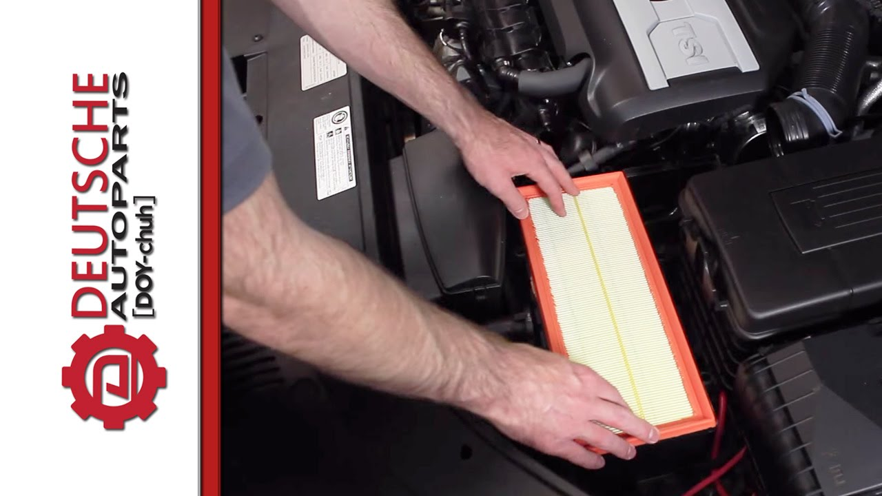 2010 Volkswagen Routan Engine Diagram Vw 2 0t Tsi Air Filter Replacement Diy How To Install