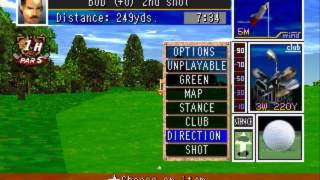 Tecmo World Golf Japan  ~ PS1 PlayStation