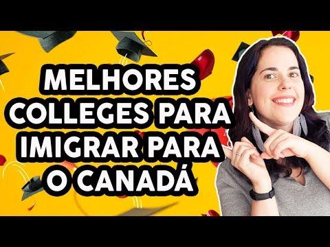 MELHORES COLLEGES PARA IMIGRAR PARA O CANADÁ