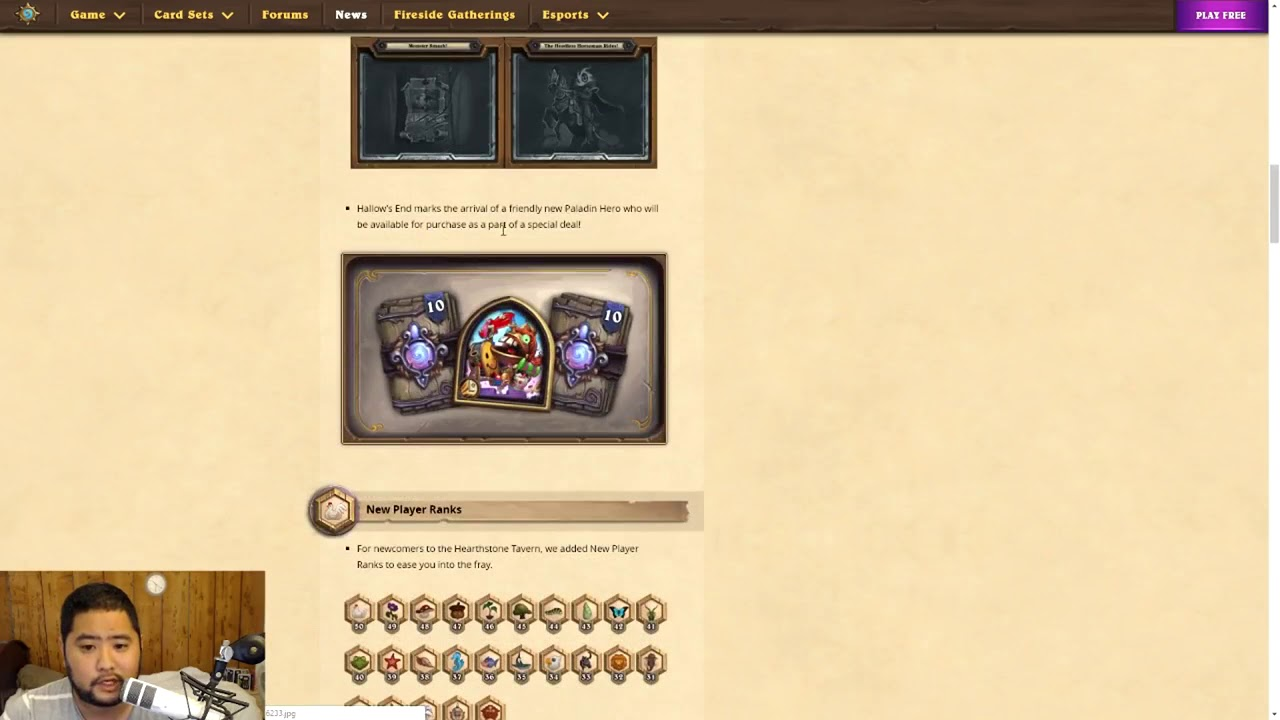 10/2/2018 Hearthstone Update 12 2 New Changes!
