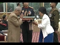 68th Republic Day : President Pranab Mukherjee awards Ashok Chakra(Posthumous) for Havilda