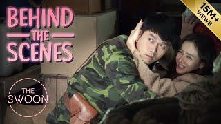 [Behind the Scenes] Hyun Bin & Son Ye-jin rehearse their first kiss   Crash Landing on You [ENG SUB]