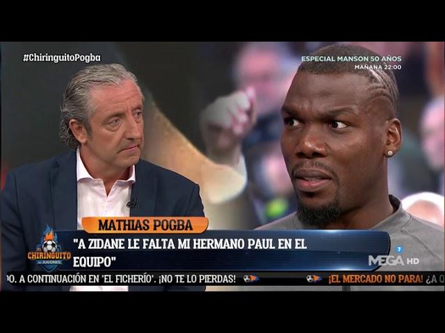 """MATHIAS POGBA: """"""""FLORENTINO PODRÍA CONSEGUIR que mi HERMANO FICHE por el REAL MADRID"""""""