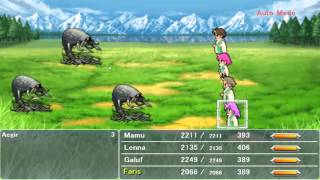 Final Fantasy V (PC) Cheat Engine Mastering Jobs and getting all Abilities.