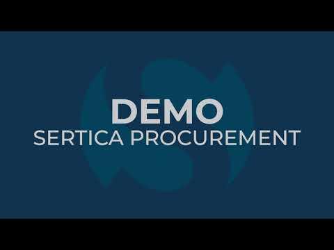 SERTICA Marine Procurement Software: How to create a RFQ
