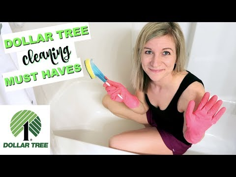 DOLLAR TREE CLEANING MUST HAVES! | BATHROOM CLEANING ROUTINE WITH ALL $1 ITEMS | DOLLAR TREE HAUL