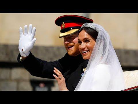 Den Fans ganz nah: Herzogin und Herzog von Sussex