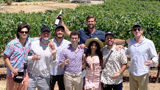 SURPRISING BEST FRIENDS WITH PRIVATE WINE TOUR!!