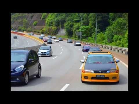 Malaysia Protege Club (MPC) convoy photos - Mazda Lantis