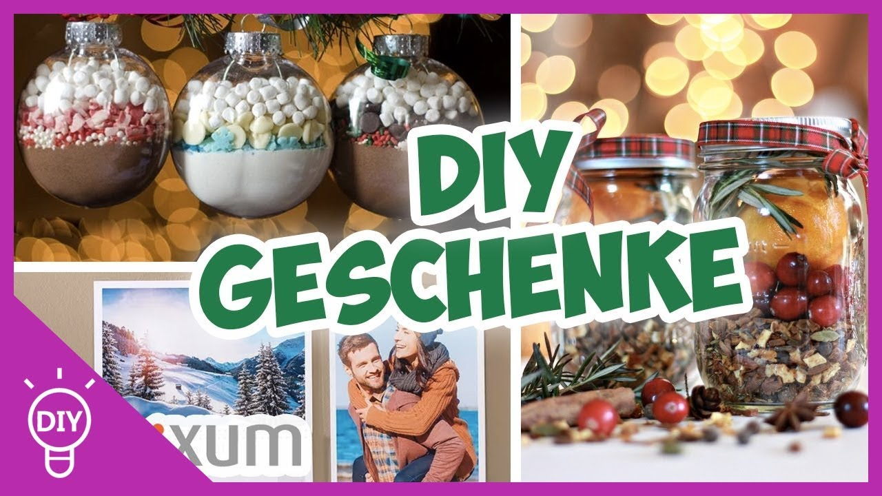last minute diy weihnachtsgeschenke youtube. Black Bedroom Furniture Sets. Home Design Ideas