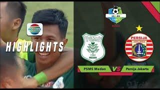 Goal Bunuh Diri Simic - PSMS Medan (1) vs Persija (1) | Go-Jek Liga 1 bersama Bukalapak