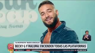 Becky G y Maluma lanzan nueva canción con mensaje de empoderamiento femenino