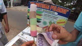 Jakarta Street Food 1127 Rainbow Ice Cut Es Potong Pelangi BR TiVi 6008