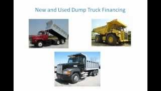 Buying a Dump Truck For Sale? New, Used Dump Truck Financing - BEFORE You Look For a Dump Truck