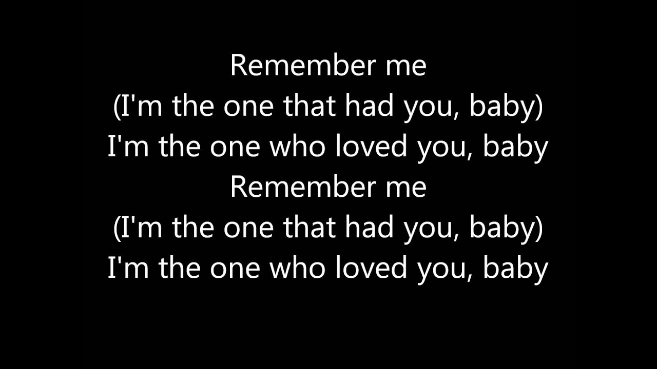 Remember me Jessie J letra
