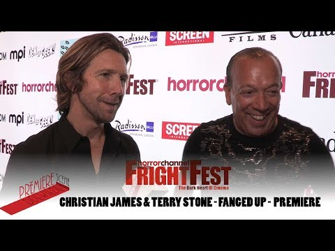 Christian James & Terry Stone - Fanged Up - FrightFest 2017 Premiere