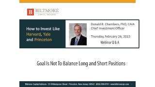 Market Neutral Funds vs. Non-Directional Long/Short Funds