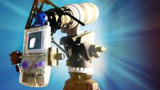 Game Boy Camera + $5000 lens!