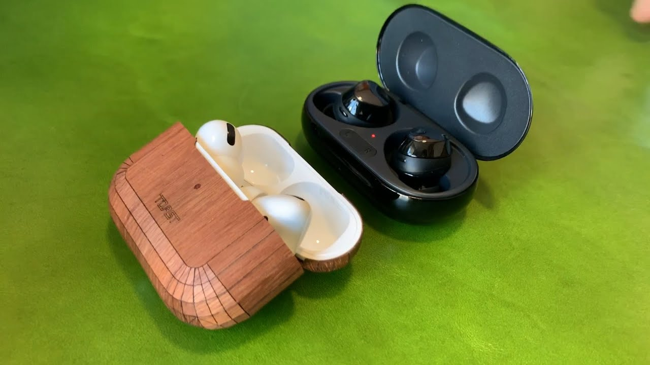 Comparing the new Galaxy Buds+ to AirPods Pro and Unboxing