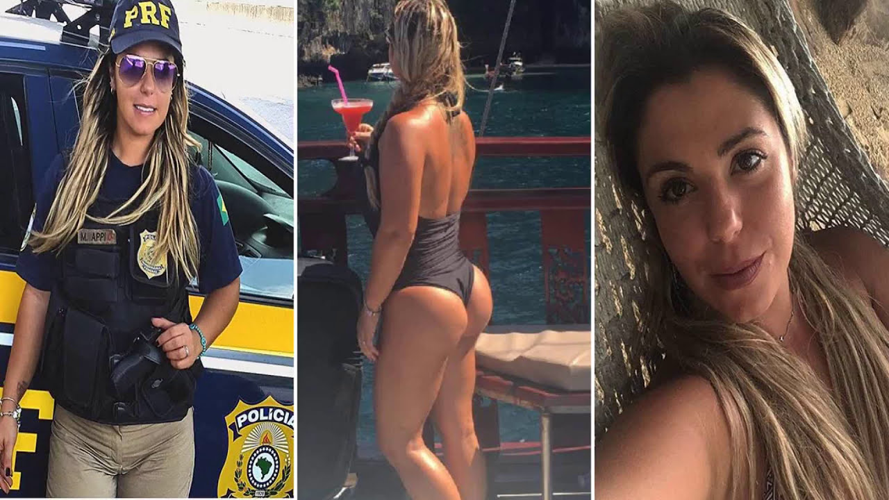Actiz Porno.braaileña esta policía brasileña ahora es considerada la más sexi del