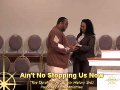 """The Oprah Show"" Black History Skit"