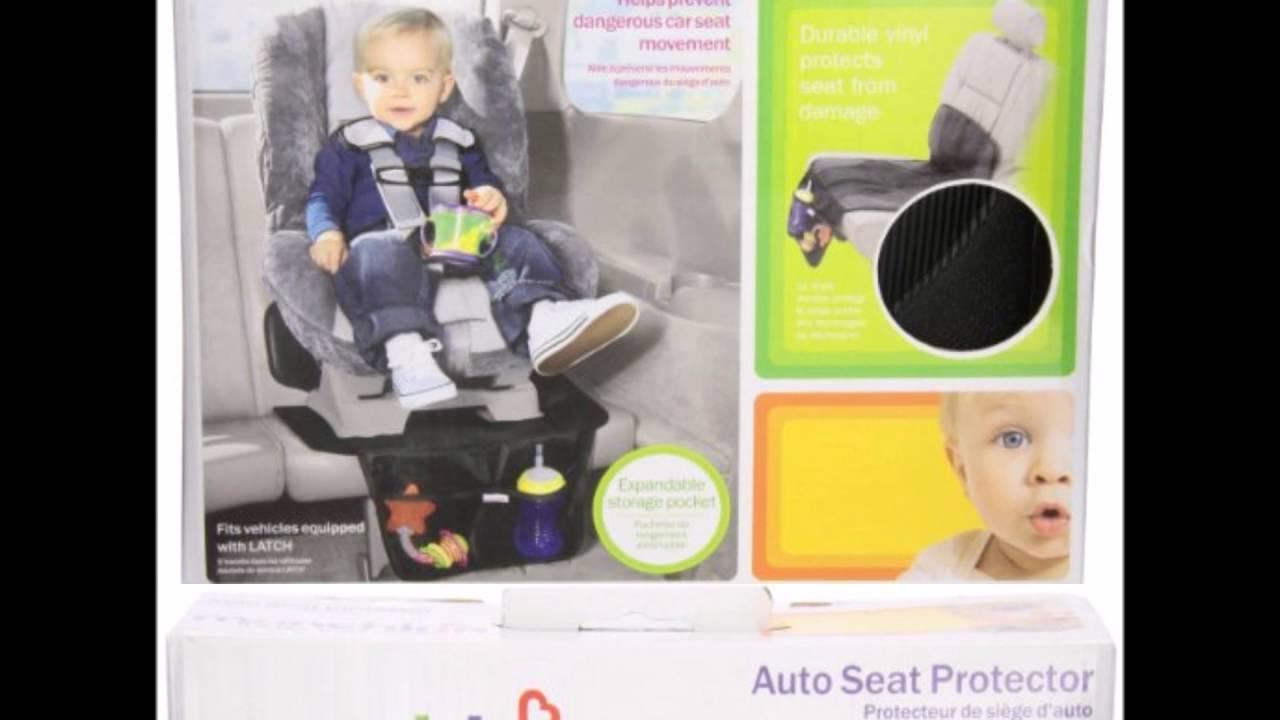 Munchkin Auto Seat Protector - YouTube