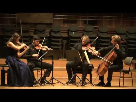 """L. Janacek String Quartet No1 """"Kreutzer Sonata"""", 3 Mov. Eliot Quartett"""
