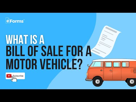 What Is A Bill Of Sale? How To Write - EXPLAINED
