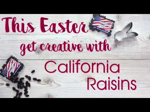 California Raisin Easter Biscuits