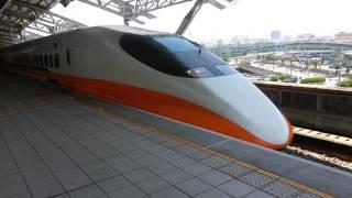 2013.04.28台灣高鐵637次列車台中出站