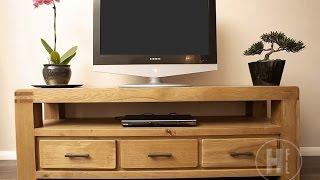 Oak TV Units and Media Cabinets