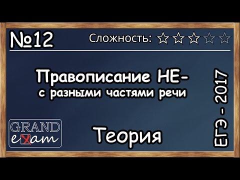 Видеоурок русский язык егэ 2017