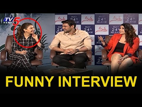 Kajal Aggarwal And Bellamkonda Srinivas Exclusive Interview | Seetha Movie | TV5 News