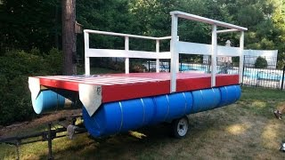 Homemade Pontoon Boat 4