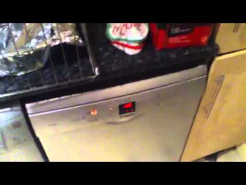 Bosch Exxcel Dishwasher intensive - YouTube