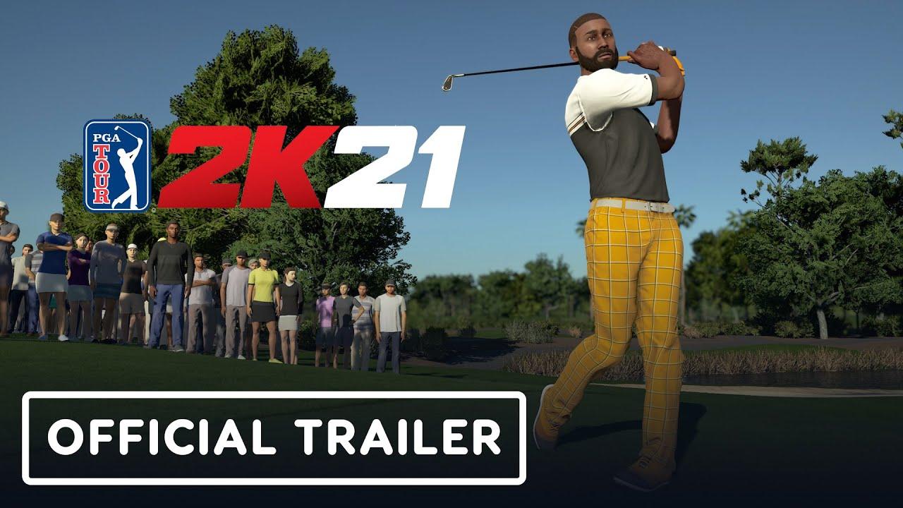 PGA Tour 2K21 - Official Announcement Trailer - YouTube