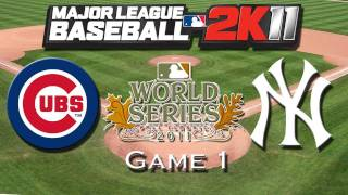 MLB 2K11: World Series Game 1 - Cubs Franchise