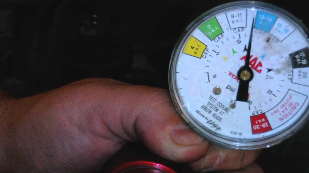 How to Check for antifreeze leak Cooling system pressure testing