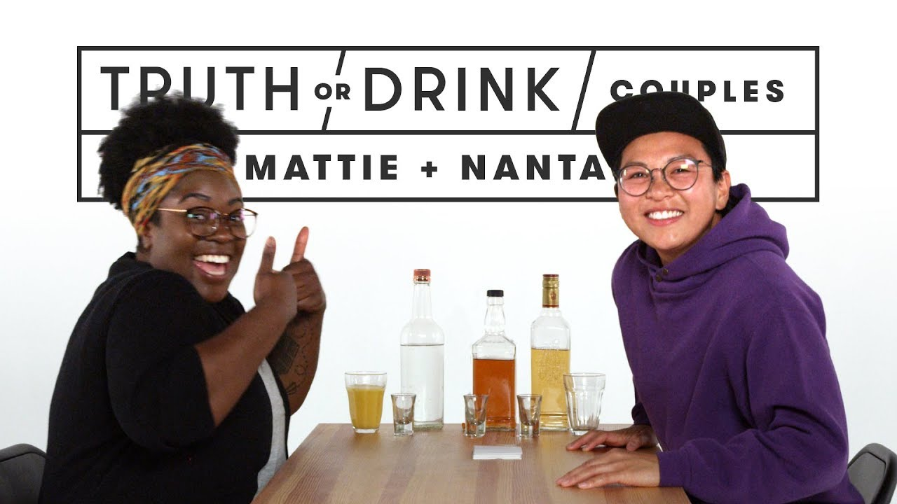 Couples Play Truth or Drink (Mattie & Nanta) | Truth or Drink | Cut