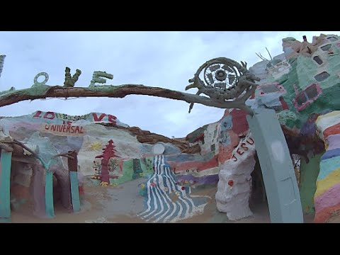 "Salvation Mountain & Mike of ""Living Free"""