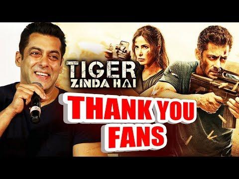 Salman Khan REACTION On Tiger Zinda Hai Trailer HUGE RECORD