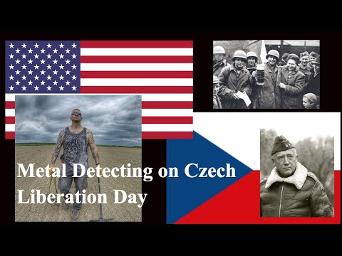 METAL DETECTING IN CZECH REPUBLIC -CZECH LIBERATION DAY HUNT