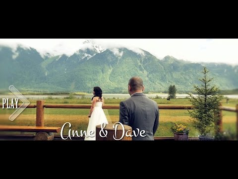 Outdoor Aerial Wedding Video Vancouver - Anne & Dave